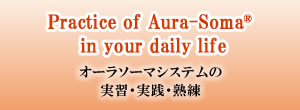 Practice of Aura-Soma in your daily life(オーラソーマシステムの実習・実践・熟練)